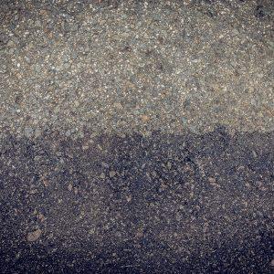repaired asphalt
