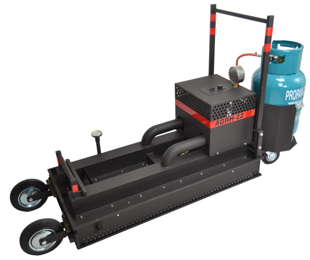 gas asphalt radiant heater